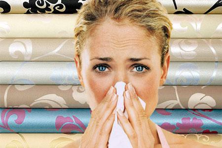 Аллергия на обои связана с накоплением в них самых распространённых аллергенов