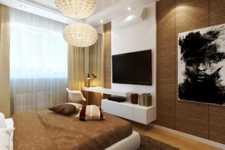 Бамбуковые обои в интерьере спальни примеры дизайнерских решений