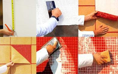 Пошаговая инструкция для правильной укладки мозаичной плитки