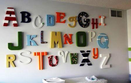 Акриловые наклейки на стену в детской