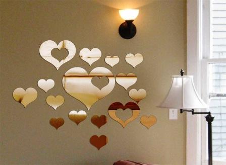 Акриловые наклейки для декорирования стен