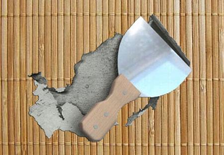 Как снять бамбуковые обои со стены