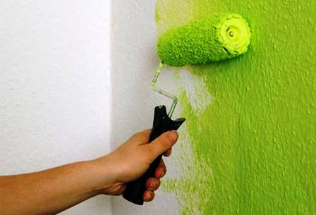 краска для флизелиновых обоев под покраску