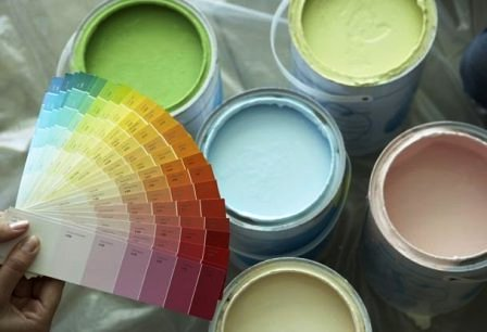 цвета краски для обоев под покраску