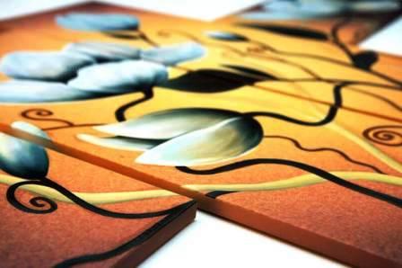 Модульные картины ручной работы