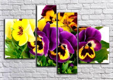 Модульные картины фиолетового цвета