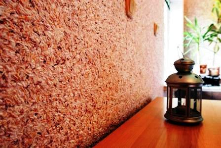 жидкие обои на окрашенные стены