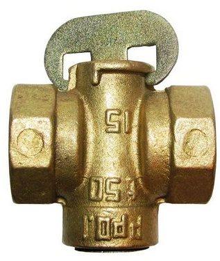 Пробковый кран используется в газовом трубопроводе