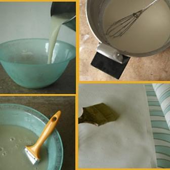 как приготовить клей для обоев