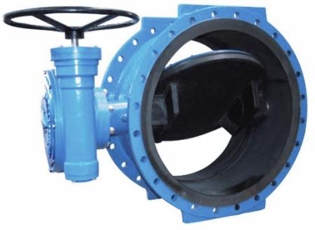 Водопроводная заслонка для труб большого диаметра
